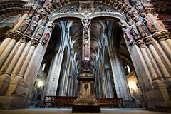 Catedral de Ourense (benitojuncal) Tags: espaa canon spain 10 catedral iglesia galicia paraiso portico ourense orense 22mm 50d