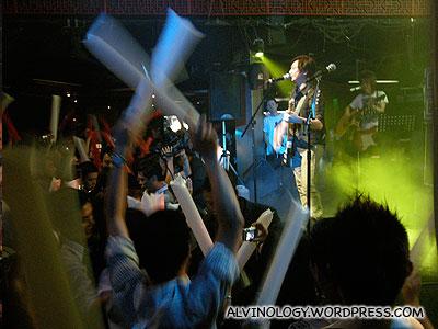 Beyond's 海阔天空 Concert @ Lunar - Alvinology