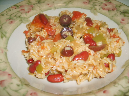 Spanish Rice and Beans2