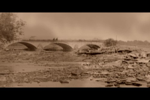 Picturesque landscape from the film April Fools