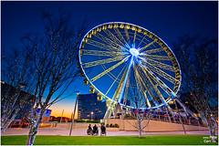Liverpool One Wheel (petecarr) Tags: christmas xmas longexposure wheel big dusk liverpoolone
