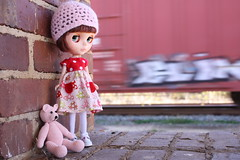 Ruby at the train station