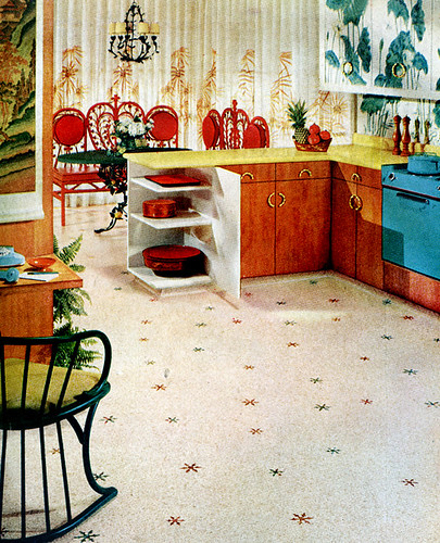 Mid-Century Living: Early '50s Kitchen (