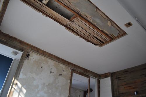 Removing  Ceiling