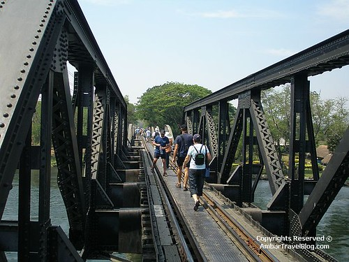 Walking On The Bridge Over River Kwai