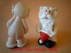 Santa Desnudo Navidad1 (Bertha Elina Marcano) Tags: en navidad pasta masa francesa flexible fria porcelana porcelanicron felxible