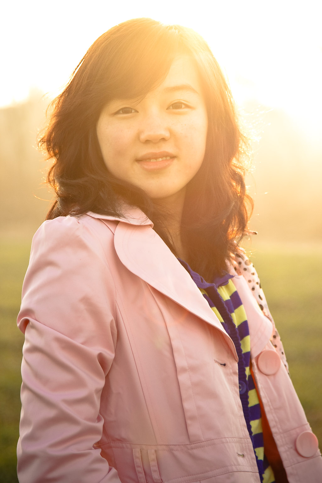Sunset photoshoot in Weinan 渭南日落 (Blog Size)