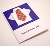 Origami Shirt Birthday Card