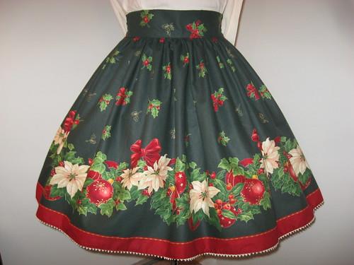 Christmas skirt 2009 004