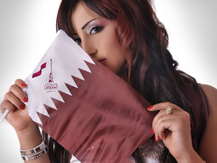 Qatar National Day Theme (S.H Make-Up Artist) Tags: 18