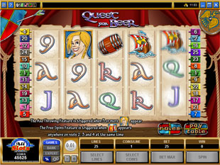 Quest for Beer slot game online review