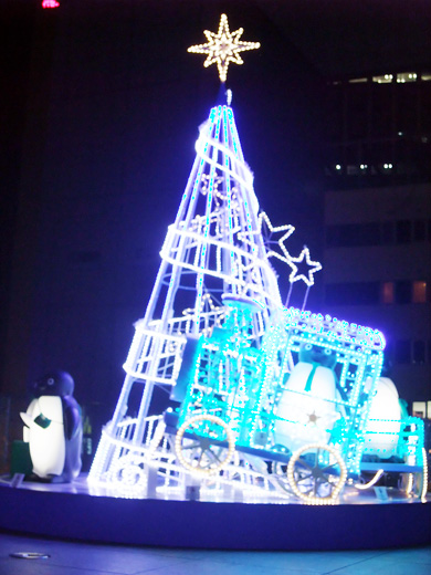 suica penguin illumination