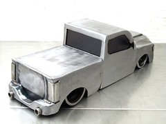2009 Ram R/T metal sculpture by Josh Welton
