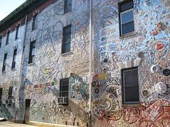 Isaiah Zagar mosaics, South Street, Philadelphia