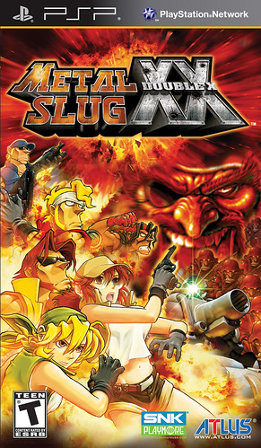 Metal Slug XX PSP Box