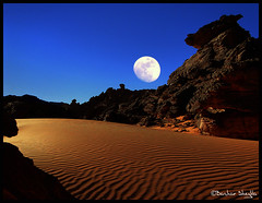 The Wolf Mountain ! (Bashar Shglila) Tags: world sky moon mountains sahara rock that photography wolf gallery photos top like best most worlds looks popular libya the acacus libyen akakus wolfmoon lbia libi libiya akakous liviya libija   a  thepowerofnow   lbija  lby libja lbya liiba livi   acacous akakos acacos thatrocklookslikea wolfmoon2010 thewolfmoon