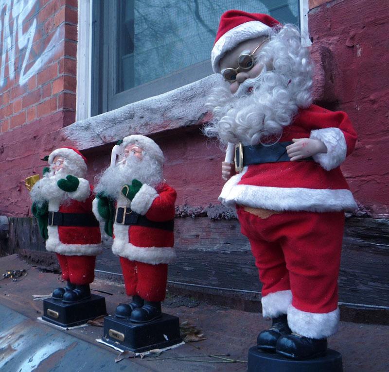 Homeless Santas
