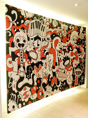 MusicSales Mural