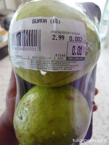 1 cent guava