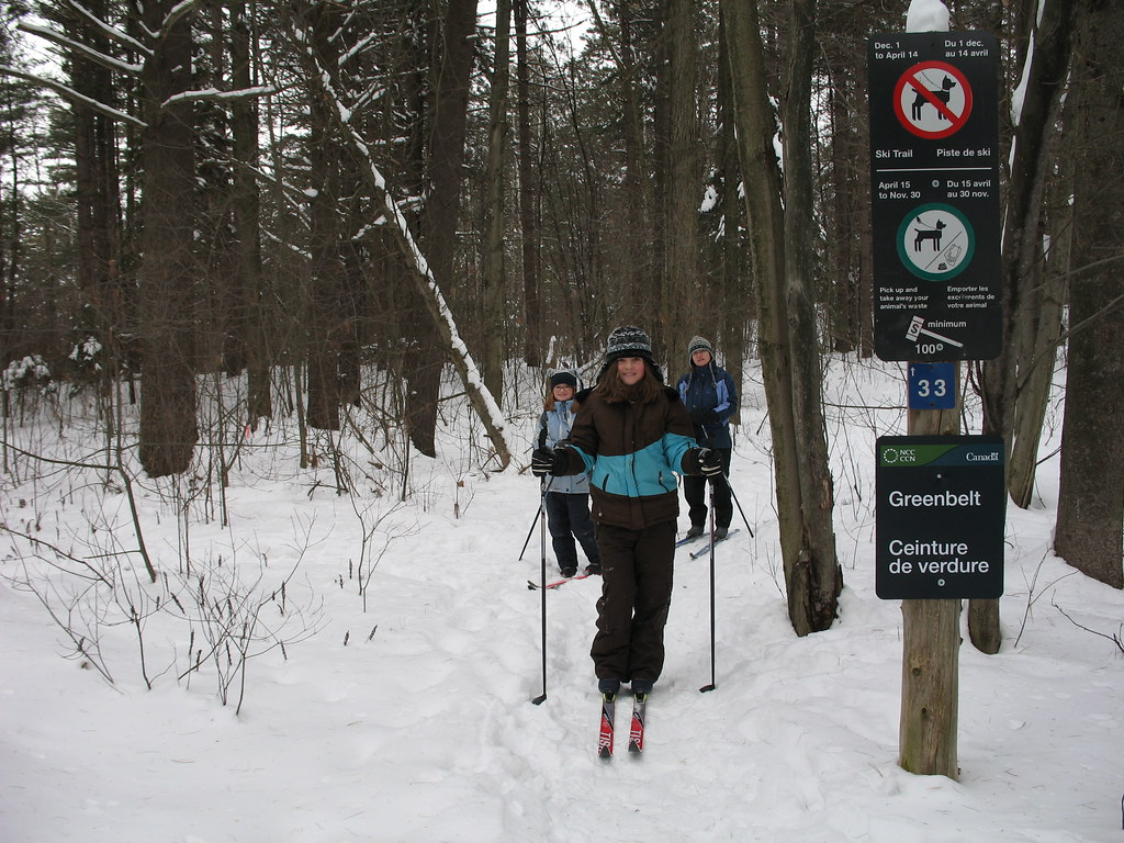 Skiing the Ottawa Greenbelt