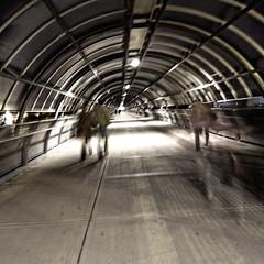 tunnel (Diego Andese) Tags: roma urbanjungle ricoh fieradiroma gx200