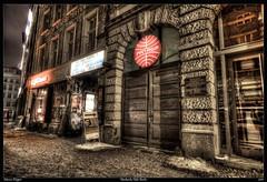 Fassade  Hackesche Hofe (Marcus Klepper) Tags: winter cinema berlin night germany deutschland kino nacht entrance hdr hdri fassade hackeschehöfe berlinmitte tonemapping berliner1017 marcusklepper