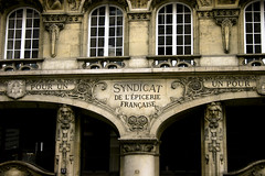 Syndicat de L'Epicerie Franaise (nina's clicks) Tags: travel paris france building architecture canon franaise syndicat lepicerie syndicatdelepiceriefranaise