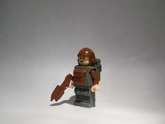 Sci-Fi LEGO Paratrooper Custom (The Skull Bandit) Tags: brick art apple movie for tv call arms lego duty ghost engine halo artsy will prototype microsoft amelia trans build cod nerf trade bionicle proto prototypes chapman protos mw2 brickarms mw1