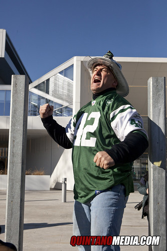 New York Jets Pep Rally Atlantic Health Training Center Florham Park New Jersey - Fireman Ed