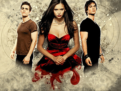 vampire diaries damon and elena. Vampire Diaries: Elena Damon