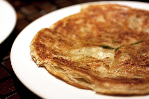 scallion pancakes @ zine