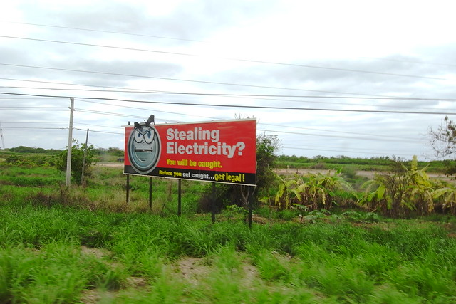 Stealing Electricity?