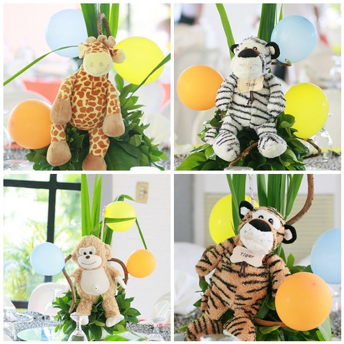 Centertable Centerpieces - Safari Animals