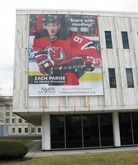 Zach Parise, NJ Devil & Library Champion