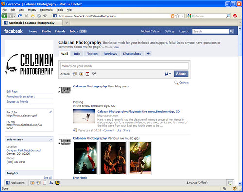 Calanan Photography on Facebook