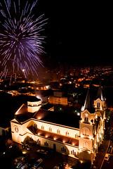 Festa de So Joo III (thiaum) Tags: church firework fogosdeartifcio flickraward