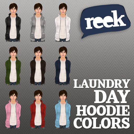 Reek - Laundry Day Hoodie - Colors