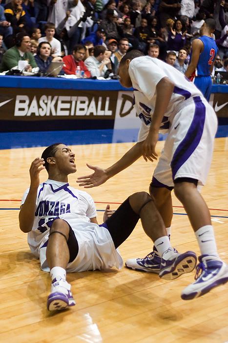 Gonzaga Basketball Nate Britt Malcolm Lemmons