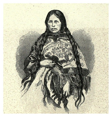 013-Mujer india de las montañas peruanas-Lima or Sketches of the capital of Peru-1866- Manuel Atanasio Fuentes Delgado