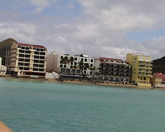 Waterfront at Phillipsburg, Sint Maarten the Dutch half