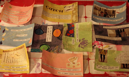 postcards for the swap