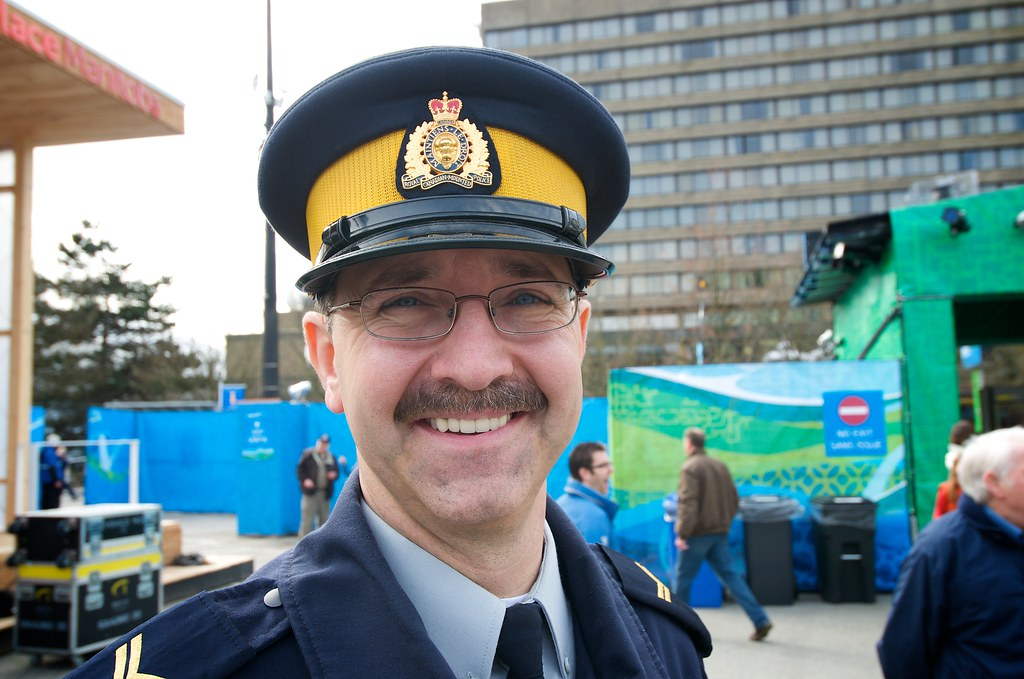 Friendly RCMP Officer