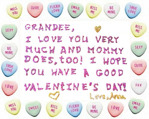 Anna Leigh Made a Valentine for Me