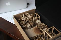 computer and artifacts (jared) Tags: oak flash walnut cedar cube cubes vectors engraved computation hardwood nested perforated algorithmic lasercut macbook as3 lased unwhole digitalfabrication