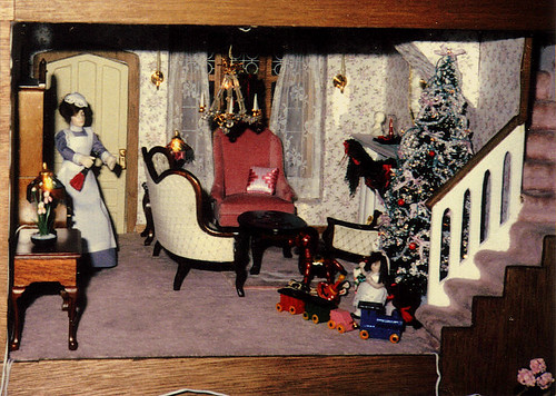 The Parlor in My Parents' Dollhouse, 1985