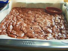 ina garten - outrageous brownies - football shaped (super bowl) - 10