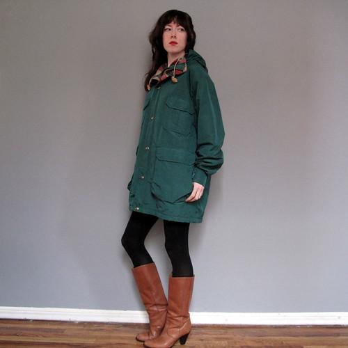 vintage woolrich coat