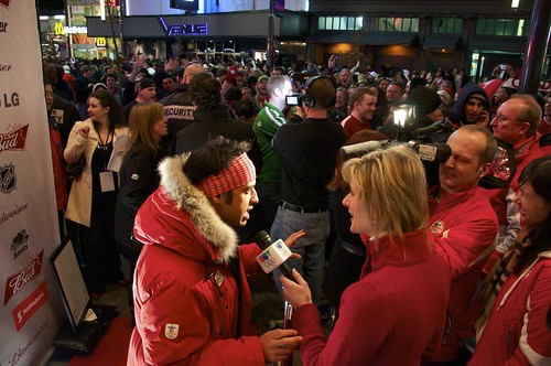 Vancouver 2010: Day 9 - Club Bud Red Carpet