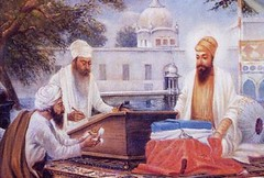 Dictation of the Guru Granth Saheb
