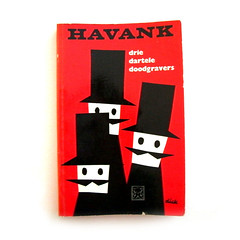 Late 1950s Dick Bruna book cover (Wooden donkey) Tags: moustache mustache vintagebookcover